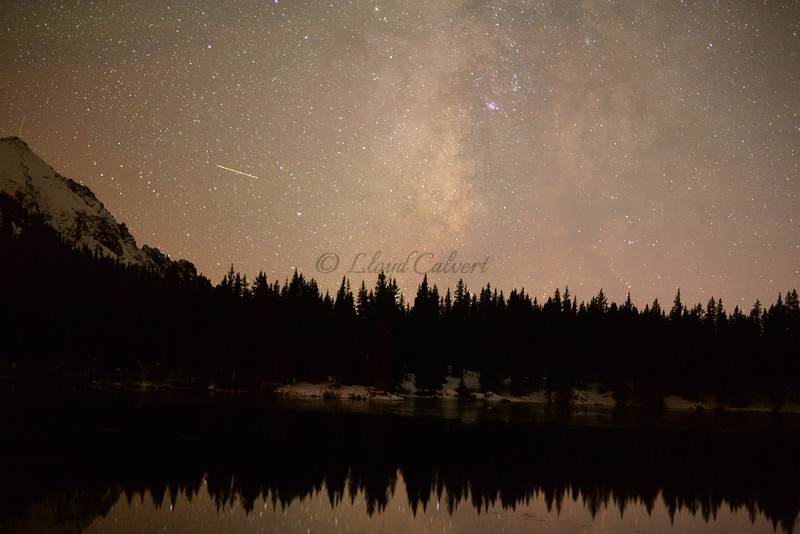 The Milky Way over Alta Lakes 11-1-15