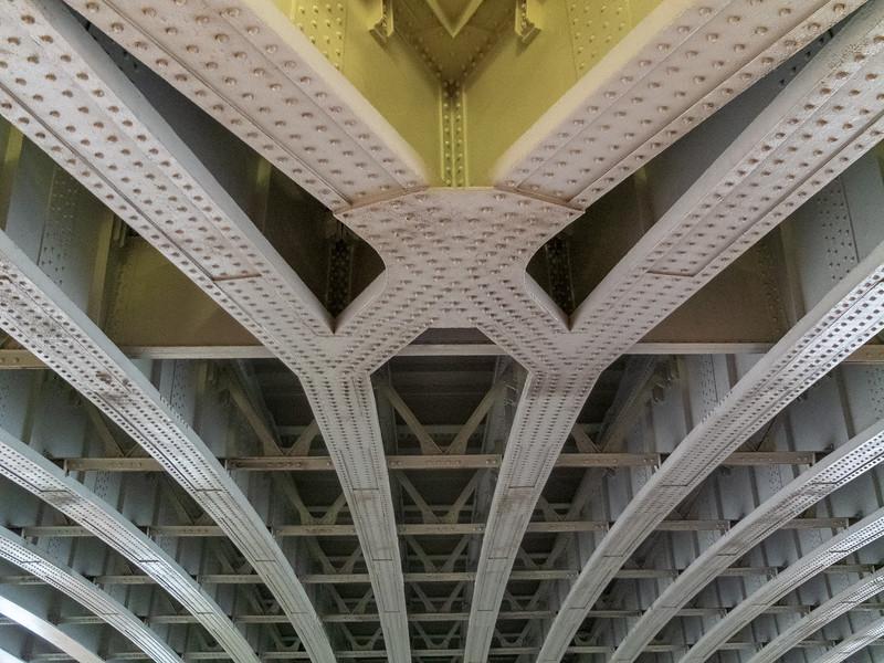 Under Blackfriars Rail Bridge