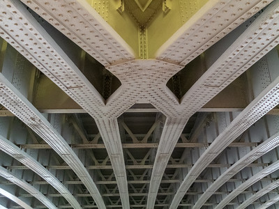 Under Blackfriars Rail Bridge