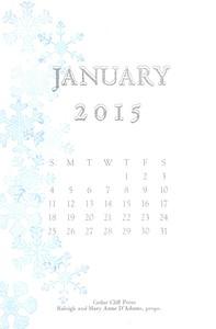 January, 2015, Cedar Cliff Press