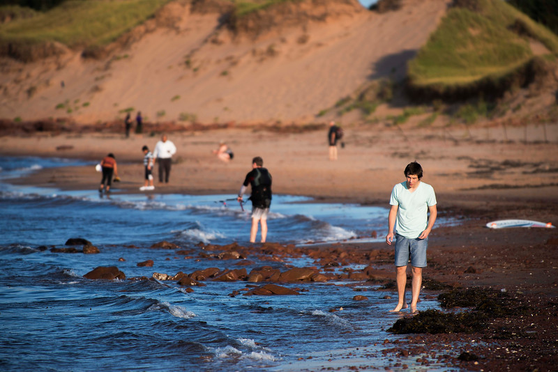 Shot this one on Sep 5 at Cavendish Beach, Prince Edward Island.