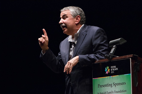 "2015 Festival of the Arts BOCA presents Thomas Friedman, Journalist & Pulitzer Prize Winning AuthorTitle: ""That Used To Be Us"""