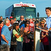 Justin Trudeau at Summerside, Prince Edward Island. 7 September, 2015.