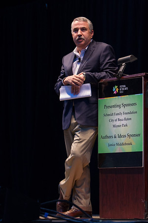 """2015 Festival of the Arts BOCA presents Thomas Friedman, Journalist & Pulitzer Prize Winning AuthorTitle: """"That Used To Be Us"""""""