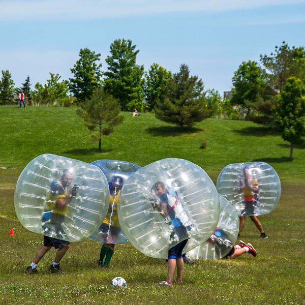 Big sweaty balls, Toronto. 7 June, 2015.