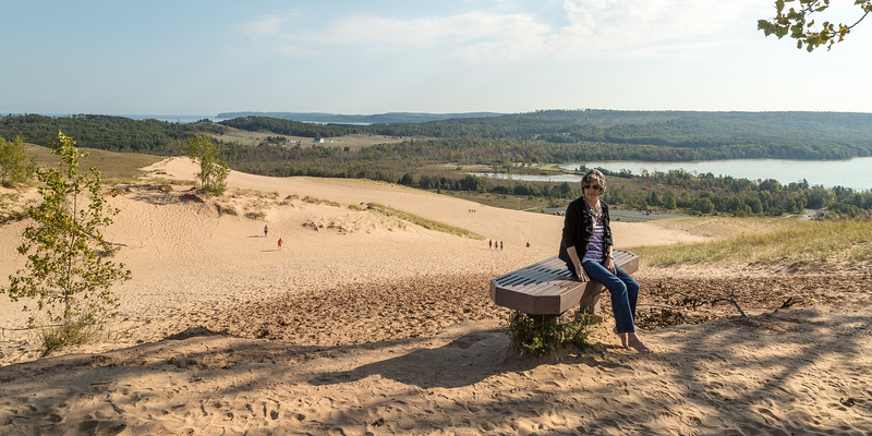 AL AT SLEEPING BEAR DUNES CLIMB