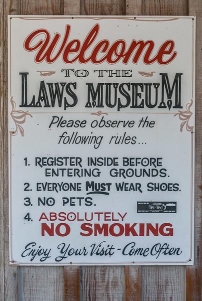Laws Railway Museum