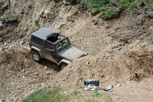 Crossing a Washed Out Road