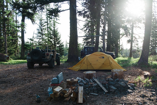 Campsite Morning