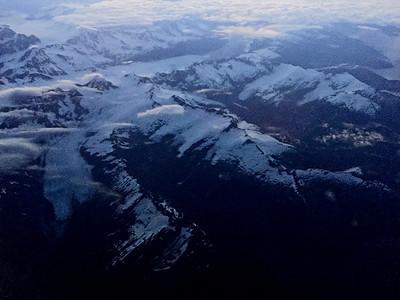It's been a long time since I'd seen mountains.  Alaska!