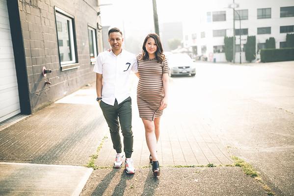 Danielle+Justin Mat