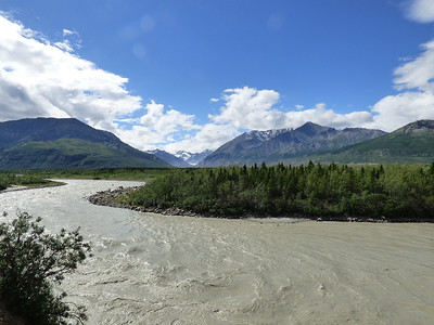 Another silty river.  Glacial runoff makes most rivers gray.