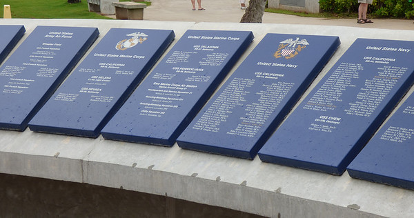 More memorial plaques.  So many of these...