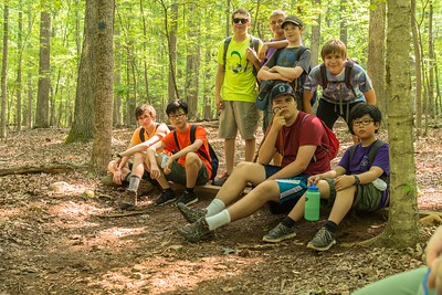 2015 Troop 486 5M Hike at the Eno (18 of 42)