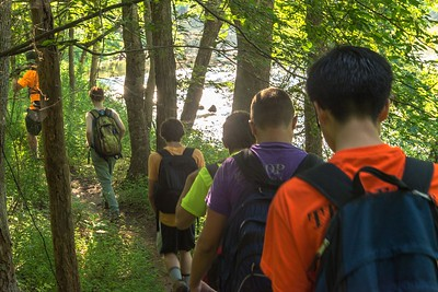 2015 Troop 486 5M Hike at the Eno (13 of 42)