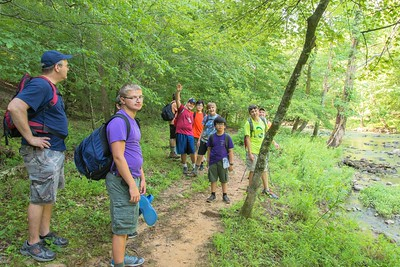 2015 Troop 486 5M Hike at the Eno (17 of 42)
