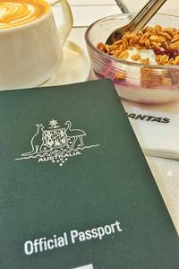 Breakfast and passport