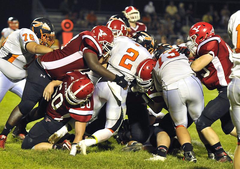 Yorkville football vs Sandwich 3