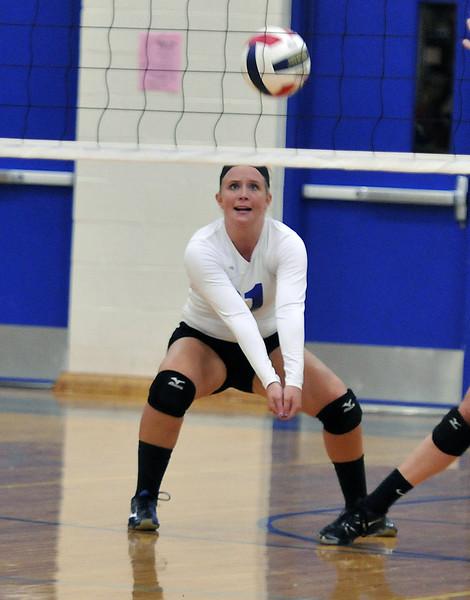 Newark volleyball at Rosary 2