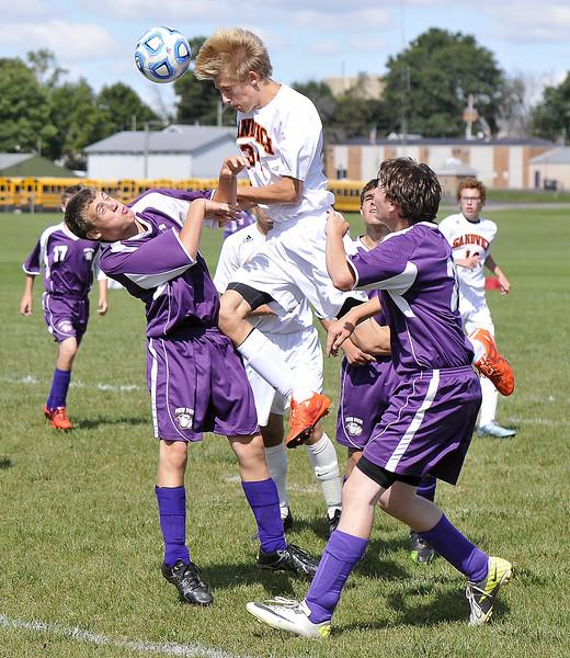 Sandwich soccer vs Paw Paw 2