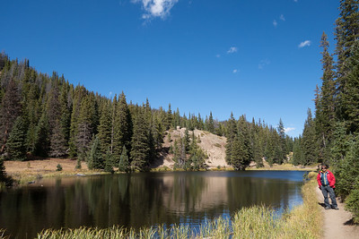 Hiking around Grand Lake in Rocky Mountain National Park