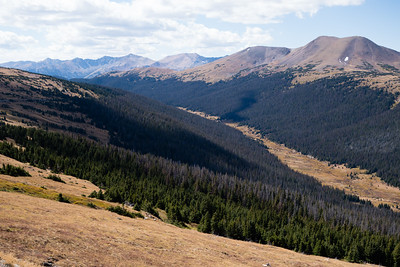 Kawuneeche Valley in Rocky Mountain National Park