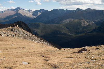 HIking to Timberline Pass (via Ute Trail) in Rocky Mountain National Park