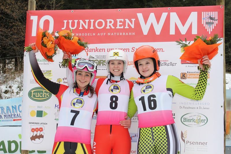 10th FIL Junior World Championships 2016 - Latsch, Italy