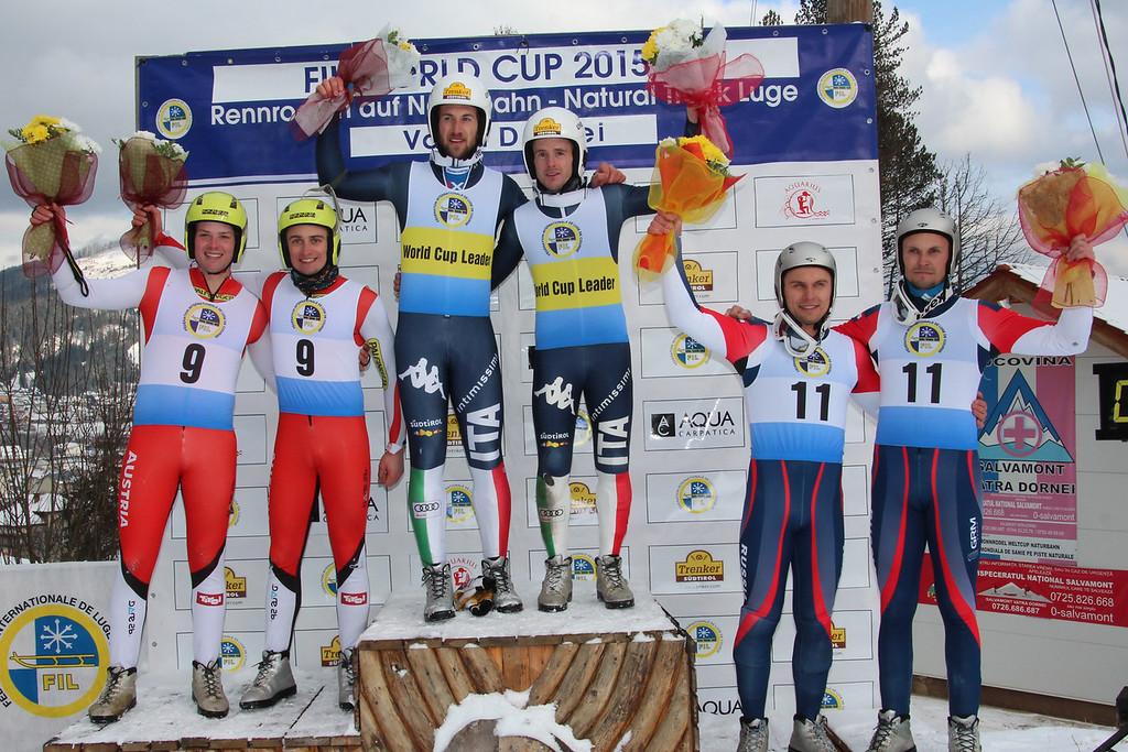 3rd FIL Luge World Cup on Natural Track, Vatra Dornei, ROU