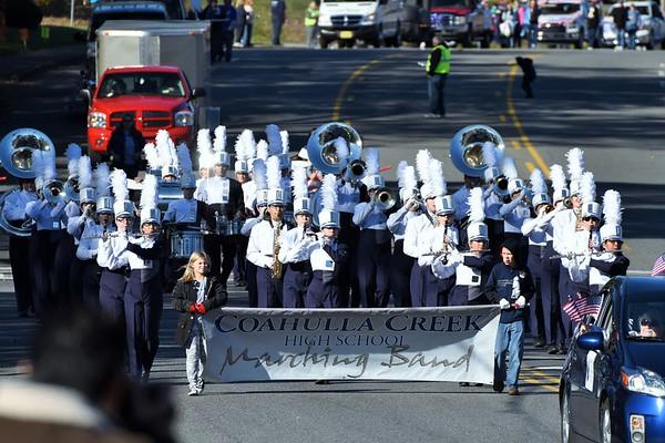 Band @ Veteran's Day Parade 11-14-15