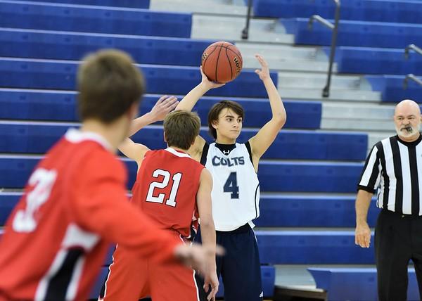 Freshmen Boys vs Dalton 12-14-15