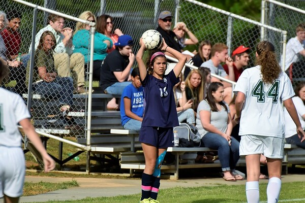 Varsity Girls vs Adairsville (Region Championship) 4-22-16