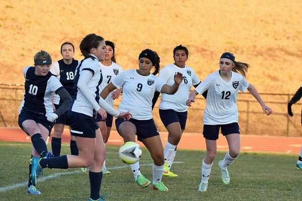 Varsity Girls vs Heritage 2-11-16