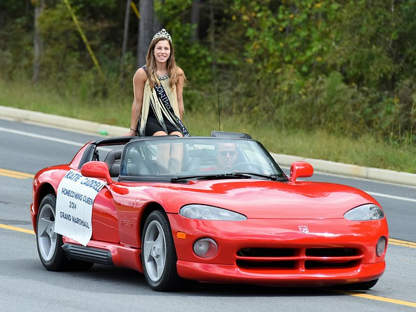 Homecoming Parade CCHS 9-30-15