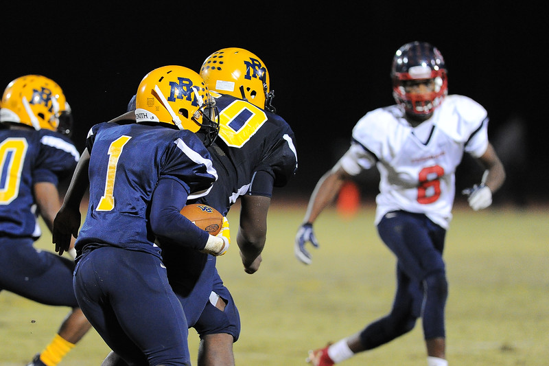 Rocky Mount Bj Sanders (1) Rocky Mount defeats Southern Nash 35-14 Friday evening October 30, 2015 in Rocky Mount, NC (Photos by Anthony Barham / WRAL contributor.)