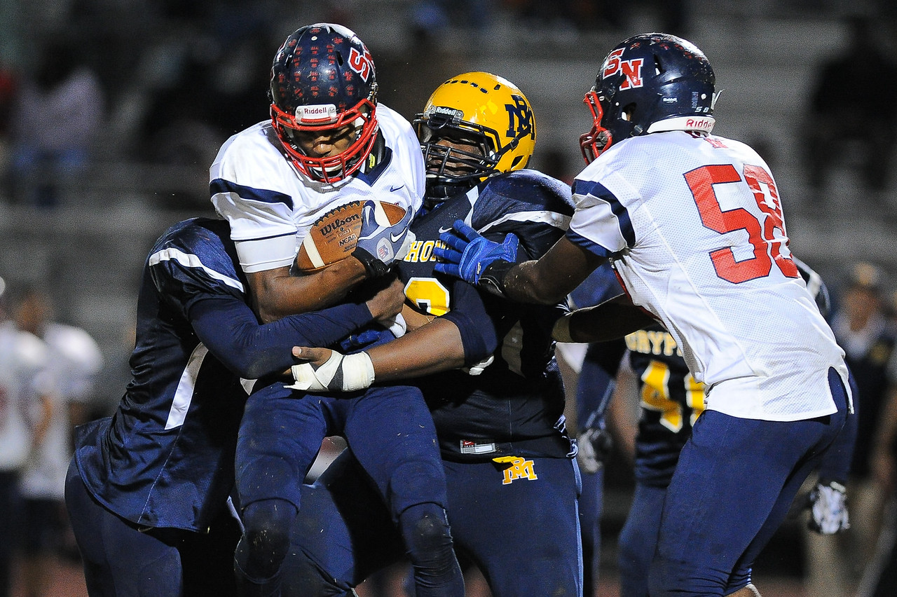 Southern Nash Kyron Hinton (58) Rocky Mount defeats Southern Nash 35-14 Friday evening October 30, 2015 in Rocky Mount, NC (Photos by Anthony Barham / WRAL contributor.)