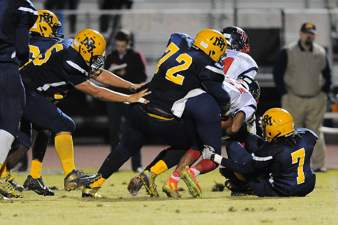 Rocky Mount Thomas Battle (72) Rocky Mount defeats Southern Nash 35-14 Friday evening October 30, 2015 in Rocky Mount, NC (Photos by Anthony Barham / WRAL contributor.)