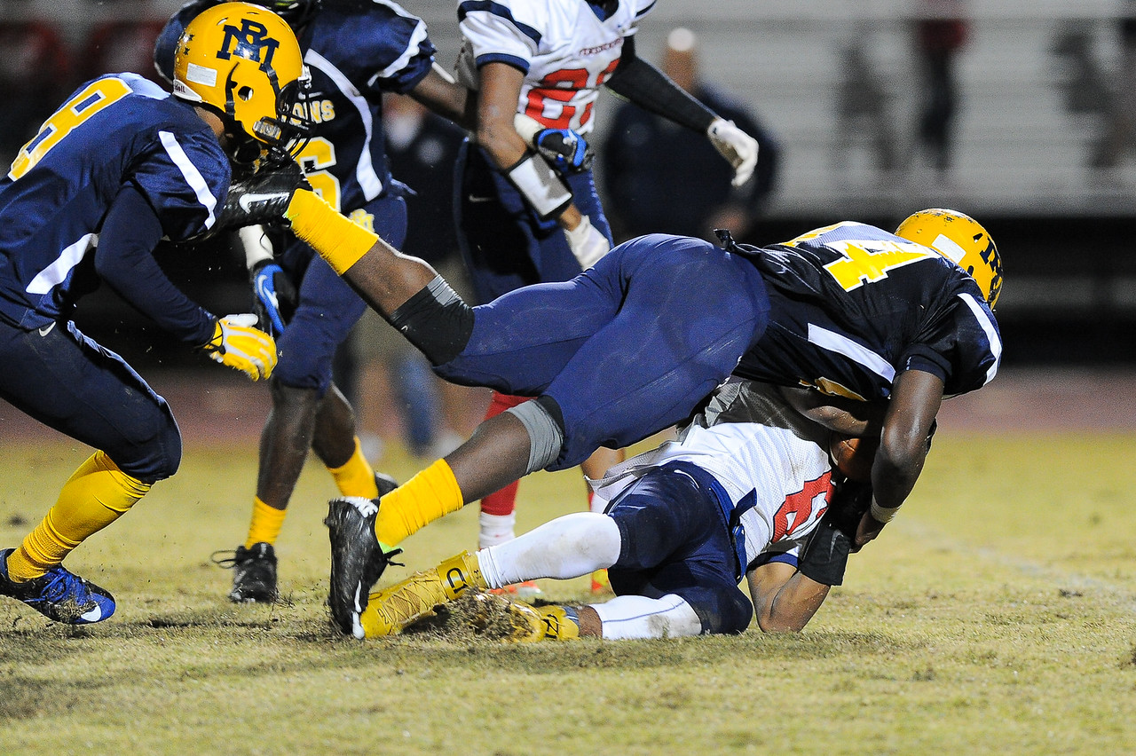 Rocky Mount Sherrod Greene (44) Rocky Mount defeats Southern Nash 35-14 Friday evening October 30, 2015 in Rocky Mount, NC (Photos by Anthony Barham / WRAL contributor.)