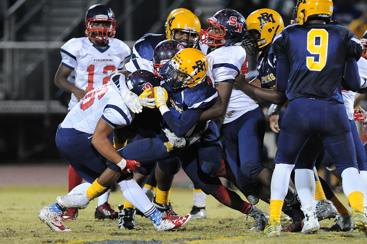 Rocky Mount defeats Southern Nash 35-14 Friday evening October 30, 2015 in Rocky Mount, NC (Photos by Anthony Barham / WRAL contributor.)