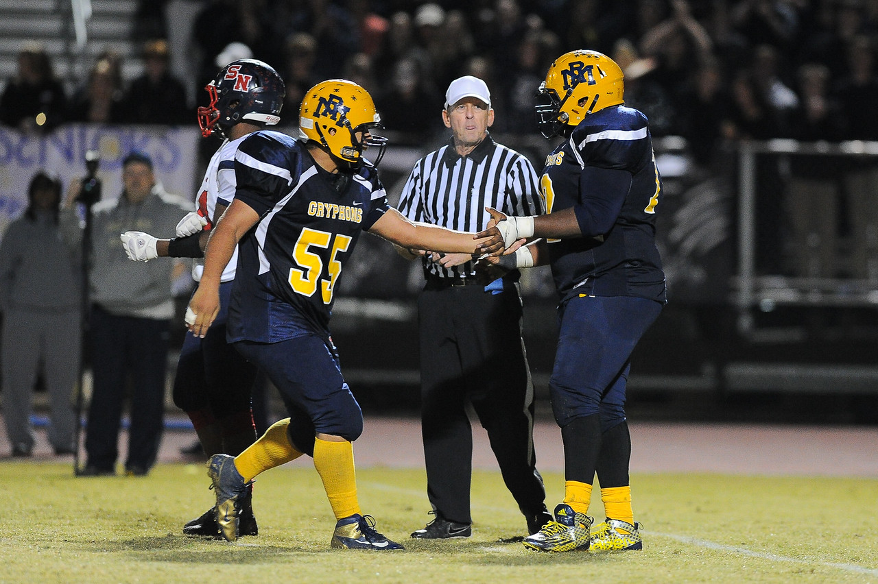 Rocky Mount Marcie White (55) Rocky Mount defeats Southern Nash 35-14 Friday evening October 30, 2015 in Rocky Mount, NC (Photos by Anthony Barham / WRAL contributor.)