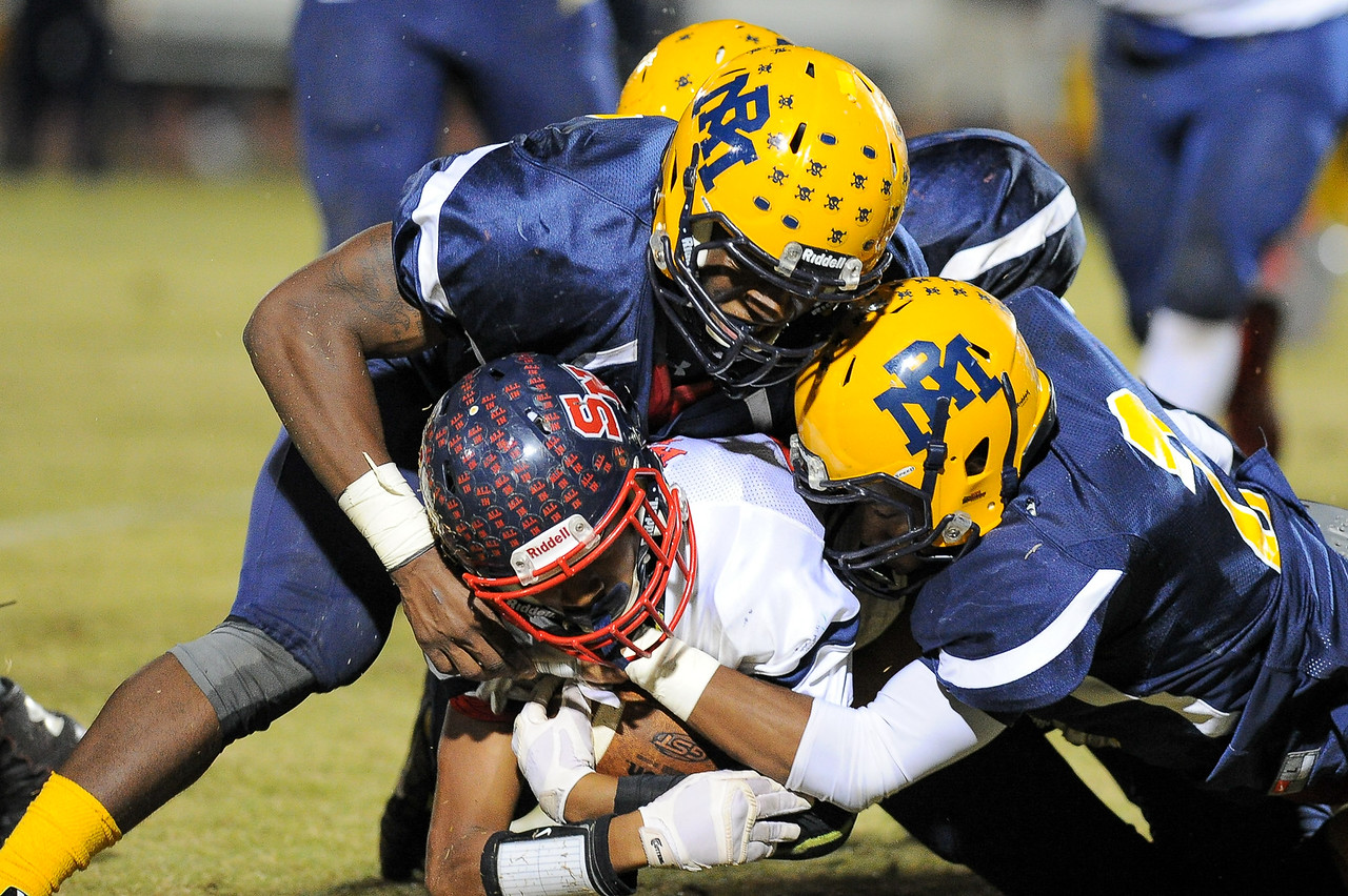 Southern Nash Jaquay Mitchell (23)Rocky Mount defeats Southern Nash 35-14 Friday evening October 30, 2015 in Rocky Mount, NC (Photos by Anthony Barham / WRAL contributor.)