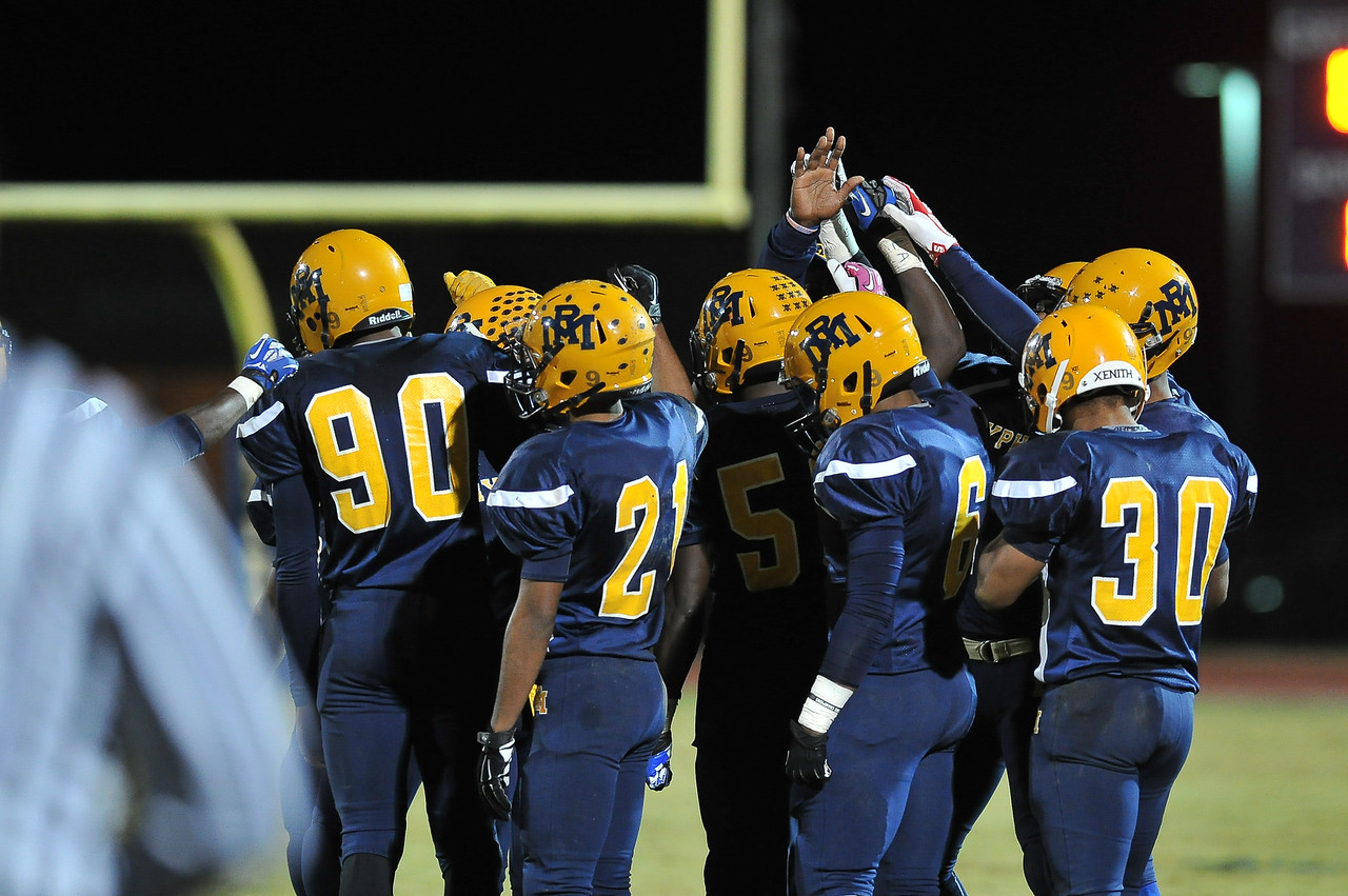 Rocky Mount during tonights game. Rocky Mount defeats South Johnston in the 2nd round of the playoffs 34-20 Friday evening November 20, 2015 in Rocky Mount NC (Photos by Anthony Barham / WRAL contributor.)