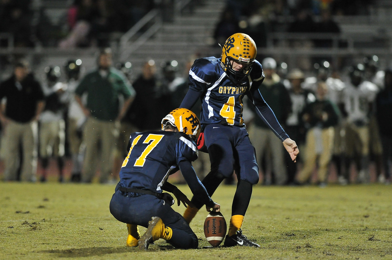 Rocky Mount Chase Miller (41) during tonights game. Rocky Mount defeats South Johnston in the 2nd round of the playoffs 34-20 Friday evening November 20, 2015 in Rocky Mount NC (Photos by Anthony Barham / WRAL contributor.)