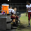 Harnett Central Charles McKinnon (88) during tonights game.East Wake defeats Harnett Central 60-27 Friday evening November 6, 2015 in Wendell, NC (Photos by Anthony Barham / WRAL contributor.)