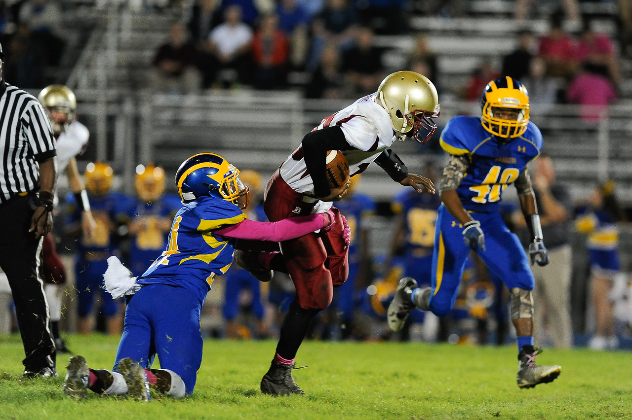 East Wake defeats Harnett Central 60-27 Friday evening November 6, 2015 in Wendell, NC (Photos by Anthony Barham / WRAL contributor.)