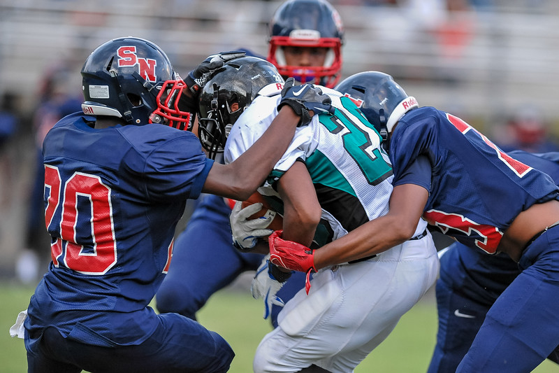 Southern Nash High School host the 2015-16 Football Jamboree, participating teams are Rocky Mount, Northern Nash, Southern Nash, Nash Central, SE Halifax, Bertie, West Johnston on Thursday evening August 13, 2015. (Photos By:  Anthony Barham/HighschoolOT.com)