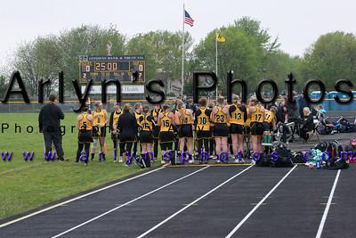 Hutch Girls Lacrosse vs Becker