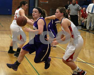 Girls Basketball at Wellsville Top Gun