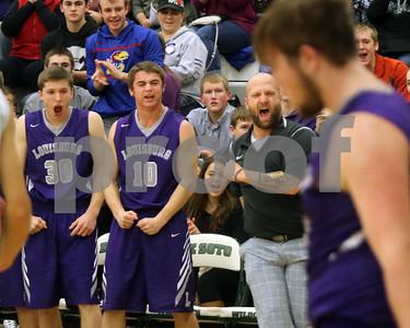 LHS Boys Basketball at De Soto