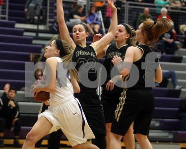 LHS Girls Basketball vs. Paola